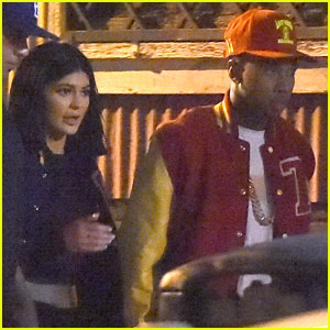 Kylie Jenner Works On a Music Video with Tyga