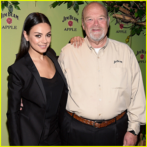Mila Kunis Helps Launch Jim Beam Apple Eve In NYC!