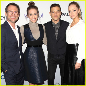 Rami Malek & 'Mr. Robot' Cast Hit PaleyFest 2015 in NYC