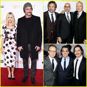 Naomi Watts Shows Hubby Liev Schreiber Support At 'Spotlight' Premiere!