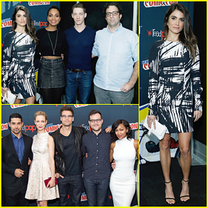 Nikki Reed Brings 'Sleepy Hollow' To NYC Comic-Con!