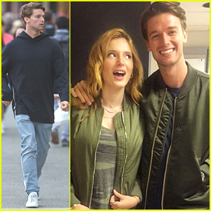 Patrick Schwarzenegger Matches With Bella Thorne Ahead Of 'Midnight Sun' Filming