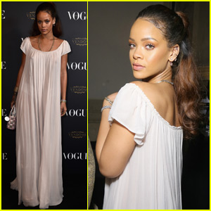 Rihanna Attends Vogue's 95th Anniversary Party With Rumored Boyfriend Travis Scott