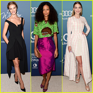 Rosie Huntington-Whiteley & Jaime King Display Lots of Leg at Variety's Power of Women Event