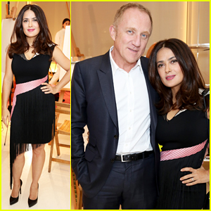 Salma Hayek Tells 'Elle' That 'Motherhood Just Makes You Tougher'
