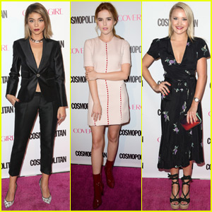 Sarah Hyland Steps Out for Cosmopolitan's 50th Birthday Party After 'Modern Family' Filming