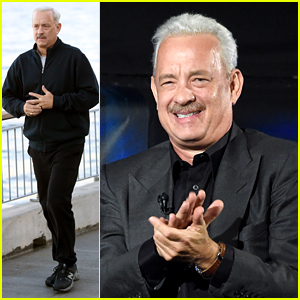 Tom Hanks Dishes on Dyeing His Hair White for 'Sully'