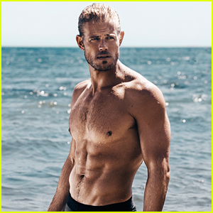 Trevor Donovan Displays Ripped Muscles for Shirtless Beach Photo Shoot! (Exclusive)