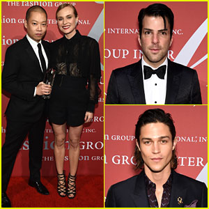 Zachary Quinto & Miles McMillan Couple Up for Fashion Fun!