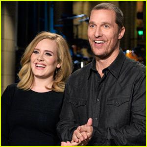 Adele Says 'Hello' for Matthew McConaughey in 'SNL' Promo!