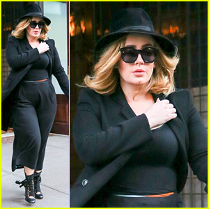 Adele Steps Out in NYC After Getting Huge 'Billboard' Honor!
