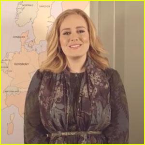 Adele Tour Dates 2016 Announced - 'Adele Live 2016'!