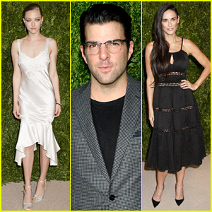 Amanda Seyfried & Demi Moore Stun At CFDA/Vogue Fashion Fund Awards!