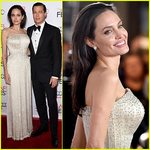 Angelina Jolie & Brad Pitt Look Flawless at 'By the Sea' L.A. Premiere!