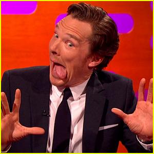 Benedict Cumberbatch Makes Hilarious Otter Faces (Video)