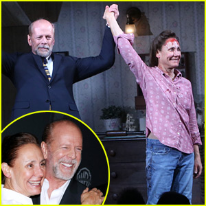 Bruce Willis Takes a Bow with 'Misery' on Broadway!