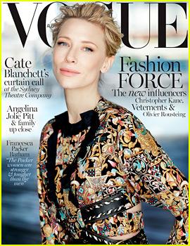 Cate Blanchett Covers 'Vogue Australia' December 2015, New 'Carol' Trailer Debuts