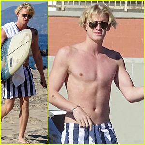 Cody Simpson is Loving His Latest Ride