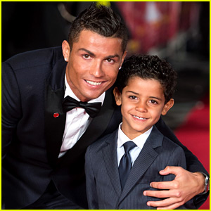 Cristiano Ronaldo Won't Tell His Son Who His Mom Is... Yet