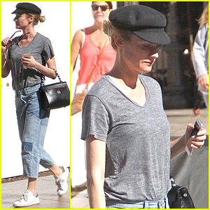 Diane Kruger Has Temporarily Quit Drinking for a Two Week Cleanse