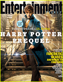 'Harry Potter' Prequel 'Fantastic Beasts & Where to Find Them' First Look Photo!