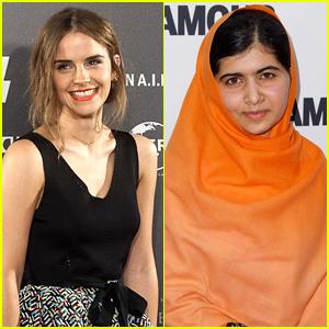 Emma Watson Interviews Malala Yousafzai & Wants To Make Her a Feminist