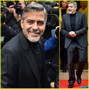 George Clooney Visits a Cafe That Feeds the Homeless