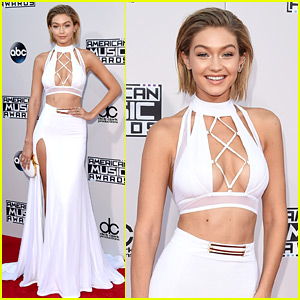 Gigi Hadid Rocks Temporary Bob at American Music Awards 2015!
