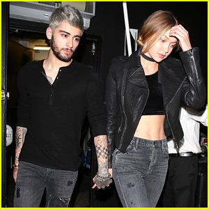 Gigi Hadid & Zayn Malik Hold Hands in