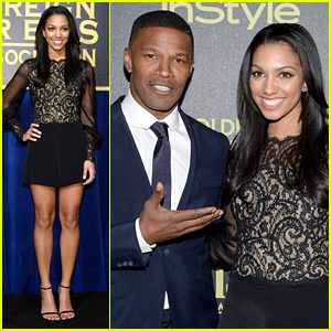 Jamie Foxx's Daughter Corinne is Miss Golden Globe 2016!