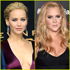 Jennifer Lawrences Reveals Details About Her Movie with Amy Schumer!