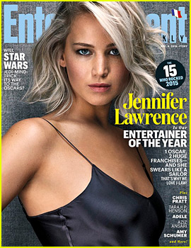 Jennifer Lawrence is EW's Entertainer of the Year 2015!