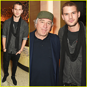 Jeremy Irvine Celebrates Nobu 10th Anniversary with Robert De Niro!