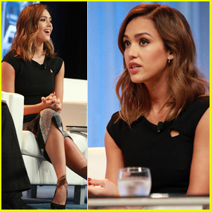 Jessica Alba Hangs With Michelle Obama & Jordin Sparks