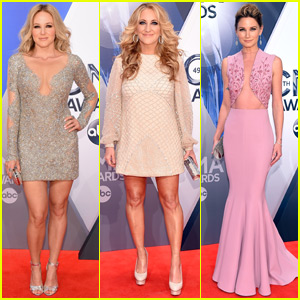 Jewel & Lee Ann Womack Stun at CMA Awards 2015 With Jennifer Nettles