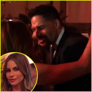 Watch Joe Manganiello Sing 'Sweet Child O' Mine' to Sofia Vergara at Their Wedding Rehearsal! (Video)