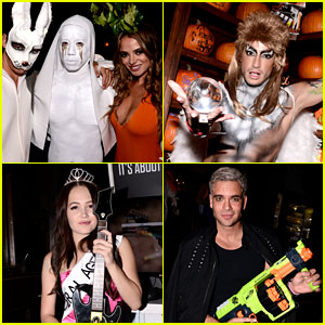 Just Jared's Halloween Party 2015: 'JJ Psych Ward' - RECAP!