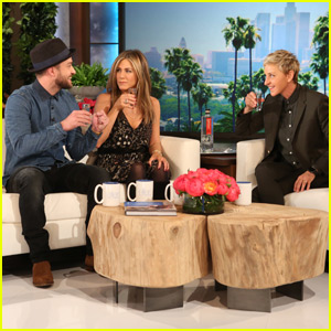 Jennifer Aniston, Justin Timberlake, & Kerry Washington Surprise Ellen DeGeneres for 2000th Episode!