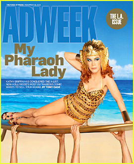 Kathy Griffin Plays 'Pharaoh Lady' for Egyptian Themed Shoot