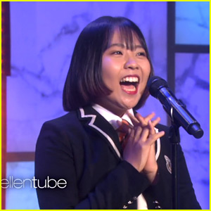 Korean Teen Lydia Lee Performs Adele's 'Hello' Live on 'Ellen'