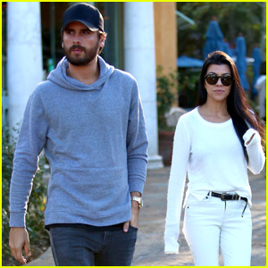 Kourtney Kardashian & Scott Disick Reunite for Friendly