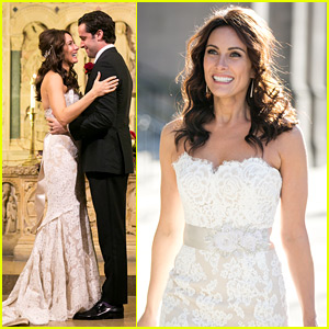 Laura Benanti Shares Her Super Romantic Wedding Photos!