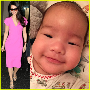 Lucy Liu Shares Adorable New Photo of Son Rockwell!