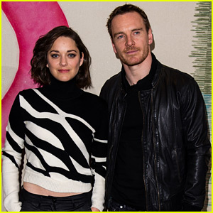 Michael Fassbender & Marion Cotillard Begin Promoting 'Macbeth' Together!