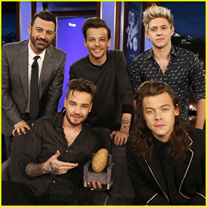 One Direction Completely Shut Down Hollywood Boulevard For 'Jimmy Kimmel Live' Appearance