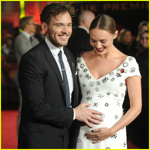 Sam Claflin & Wife Laura Haddock Reveal Pregnancy at 'Mockingjay - Part 2' Premiere!