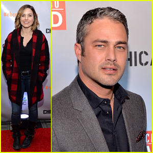 Sophia Bush & Taylor Kinney Celebrate New Season of 'Chicago Fire' & 'P.D.'