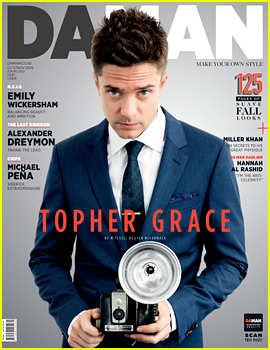 Topher Grace Says Don't Take Advice from 'Dumb' Celebs Like Himself