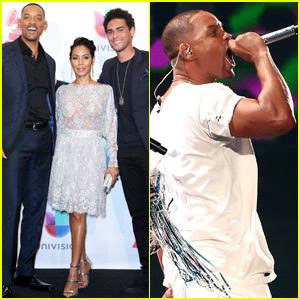 Will Smith Makes Epic Return to the Stage at Latin Grammys 2015 - Watch Now!