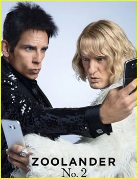 Ben Stiller & Owen Wilson Take Some Selfies in 'Zoolander 2' New Posters!